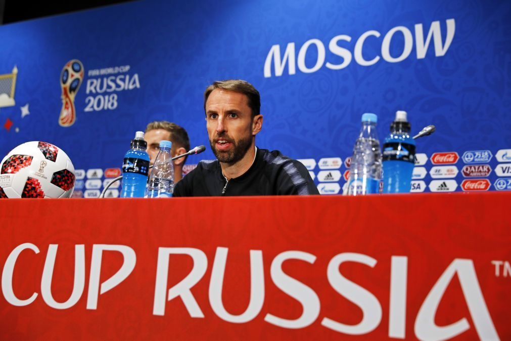 Southgate quer Inglaterra a agarrar «grande oportunidade» com Croácia