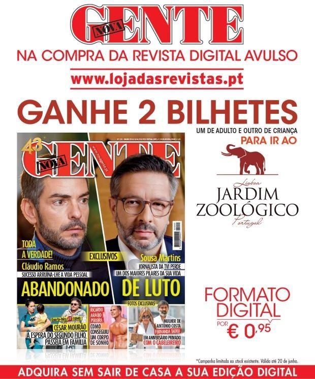 Adquira a revista Nova Gente em formato digital e ganhe bilhetes para o Jardim Zoológico