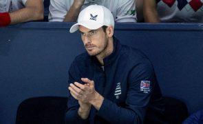 Covid-19: Andy Murray entre o