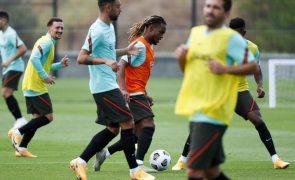 Seleção portuguesa treina na Suécia