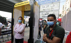 Covid-19: Egito ultrapassa os 100 mil casos de contágios