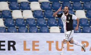 Internacional argentino Higuaín deixa Juventus e ruma ao Inter Miami