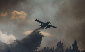 Incêndio em Serpa mobiliza mais de 30 operacionais e dois meios aéreos