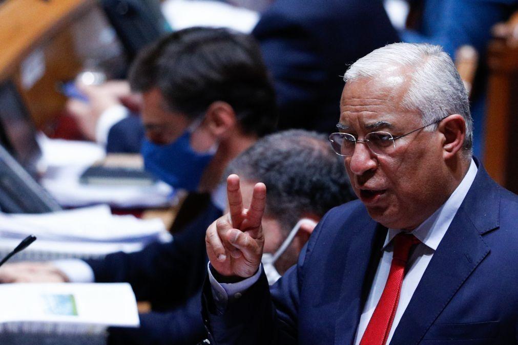 Costa quer «recalendarizar» valorização de salários na função pública