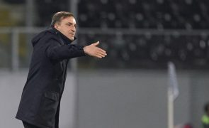 Jogo na Luz é dos mais difíceis do campeonato, mas Braga quer ganhar, diz Carvalhal