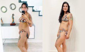 Márcia Dias perdeu quase quatro quilos nos primeiros dez dias da dieta Lev