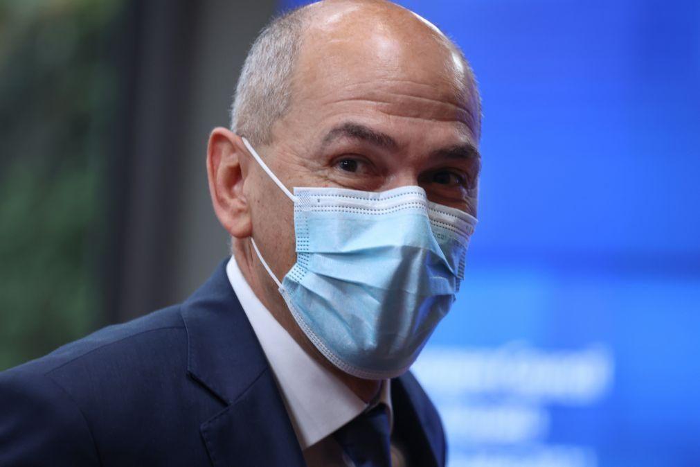 Covid-19: Alemanha deve respeitar certificado ou ninguém o levará a sério, diz PM esloveno