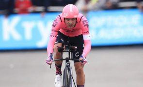 Tour: Ruben Guerreiro foi quinto na 15.ª etapa conquistada por Sepp Kuss