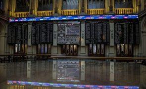 Bolsas europeias seguem em terreno positivo à espera do BCE