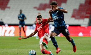 Benfica empata com Marselha no último teste antes da 'Champions'