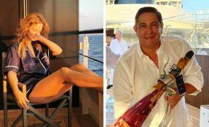 Cristina Ferreira passa férias de luxo ao lado de Mário Ferreira