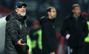 Treinador do Vizela realça que a visita ao Sporting vai servir de