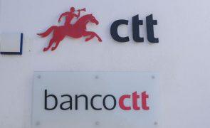 Covid-19: Banco CTT com 725 moratórias no valor de 40 ME no final de junho