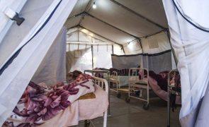 Covid-19: Pico da terceira vaga em Moçambique será dentro de três semanas