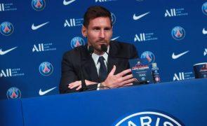 Messi quer concretizar no PSG o