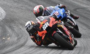 Miguel Oliveira desiste do GP da Áustria devido a queda