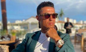 Cristiano Ronaldo reage: