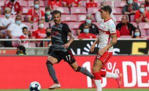 LC: Diogo Gonçalves regressa aos convocados do Benfica