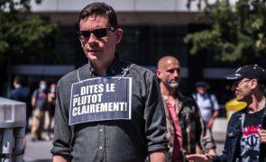 Covid-19: França regista mais internamentos e menos mortes