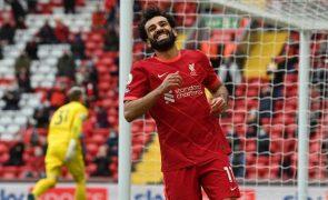 Covid-19: Liverpool recusa libertar Salah para seleção do Egito