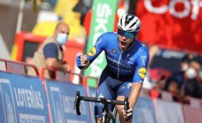 Vuelta: Rui Oliveira nono na vitória de Florian Sénéchal, Eiking continua líder