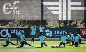 Mundial2022: Seleção portuguesa de futebol com todos disponíveis para embate com Irlanda