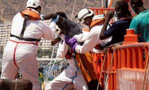 Migrações: Mais de 540 migrantes foram resgatados em barcos na rota das Canárias