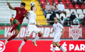 Portugal bate Bielorrússia na estreia na corrida ao Europeu de sub-21 de 2023