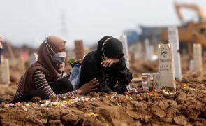 Covid-19: Pandemia já matou pelo menos 4.574.225 pessoas no mundo