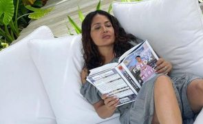 Salma Hayek com covid-19 recusa hospital: