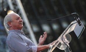 Óbito/Sampaio: Líder do PSD destaca sentido de Estado do ex-Presidente