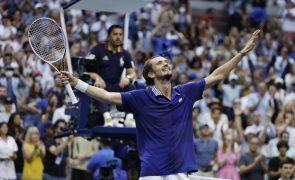 US Open: Medvedev diz que estava