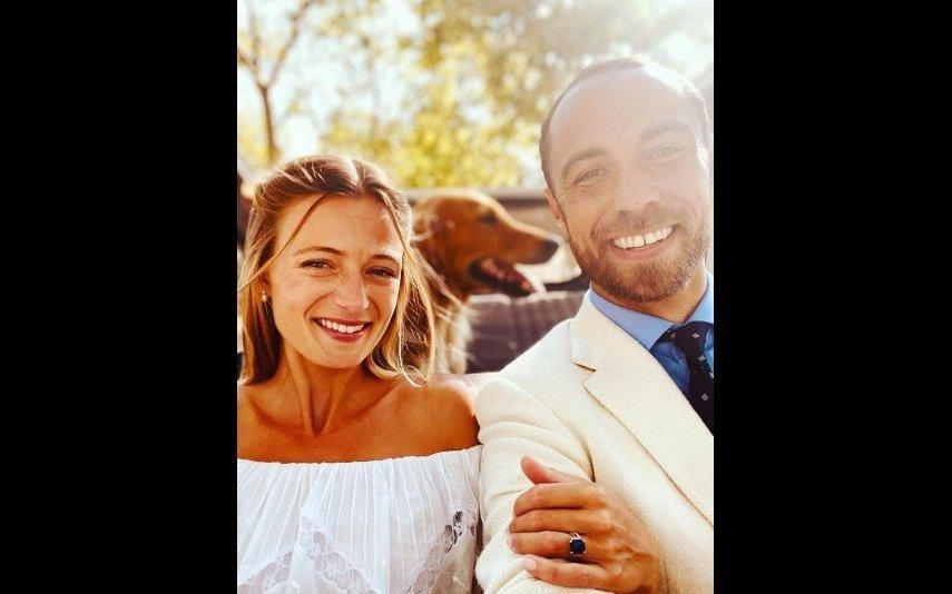 James Middleton Irmão de Kate Middleton já é um homem casado (foto)
