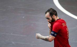 Portugal empata com Marrocos e conquista Grupo C do Mundial de futsal