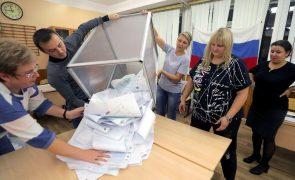 Rússia Unida vence legislativas e comunistas sobem, segundo primeiros dados oficiais