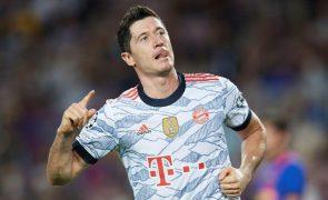 Bota de Ouro Lewandowsi afasta comparações com Ronaldo e Messi
