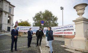 Sindicato Nacional de Polícia marca protestos para locais onde Costa participa em ações de campanha