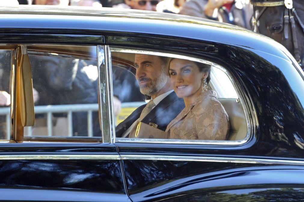 Reis de Espanha em Lisboa na 2.ª feira para inauguração na Fundação Champalimaud