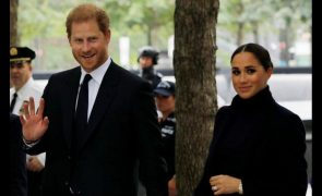 Harry e Meghan fazem a primeira aparição pública após afastamento da família real