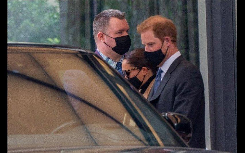 Meghan Markle Estão 27 graus em Nova Iorque, mas a duquesa não larga os casacos
