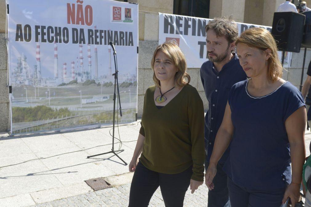 Autárquicas: Catarina Martins pede voto no BE, o