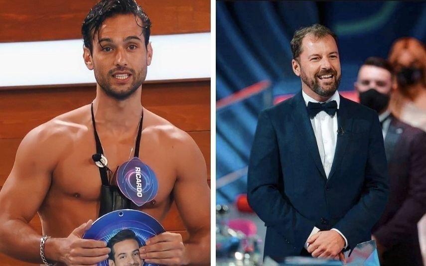 Big Brother. Ricardo é amigo de ex-concorrente, mas só para certas ocasiões