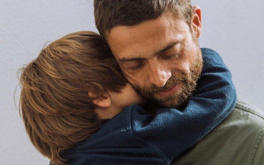 Diogo Amaral mostra rosto do filho mais velho pela primeira vez
