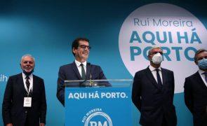 Autárquicas: Rui Moreira diz que governação do Porto está assegurada