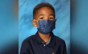 Rapaz recusa-se a tirar máscara para fotografia na escola e faz sucesso