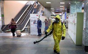 Covid-19: Rússia atinge segundo recorde consecutivo de mortes diárias