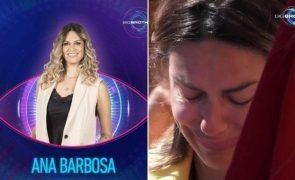 Ana Barbosa do Big Brother desaba em lágrimas por causa do marido