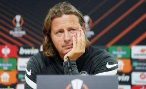 LE: Técnico do Midtjylland considera Braga a melhor equipa do grupo, mas quer vencer