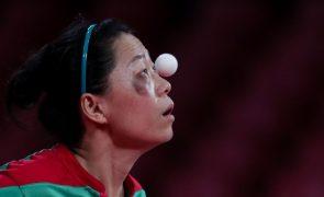Seleção feminina nas meias-finais do Europeu de ténis de mesa