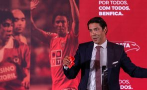 Rui Costa quer reter talentos no Benfica, plantéis mais curtos e teto salarial